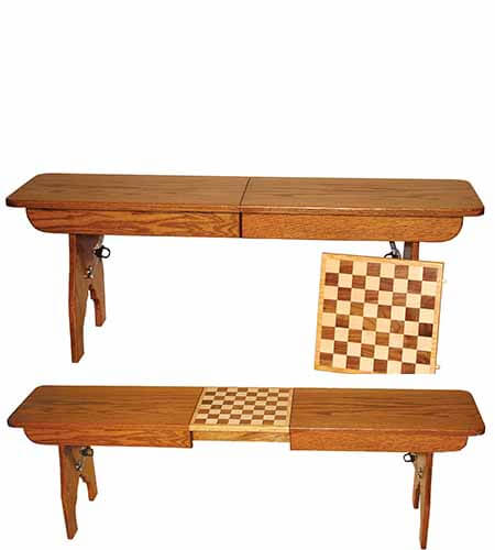Checkerboard Bench