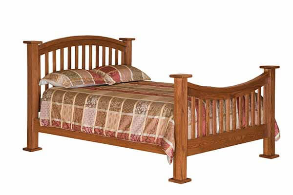 Arch Spindle Bed