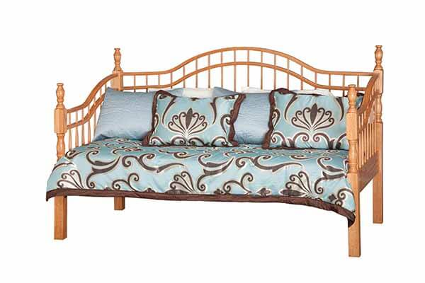 Double-Bow Day Bed